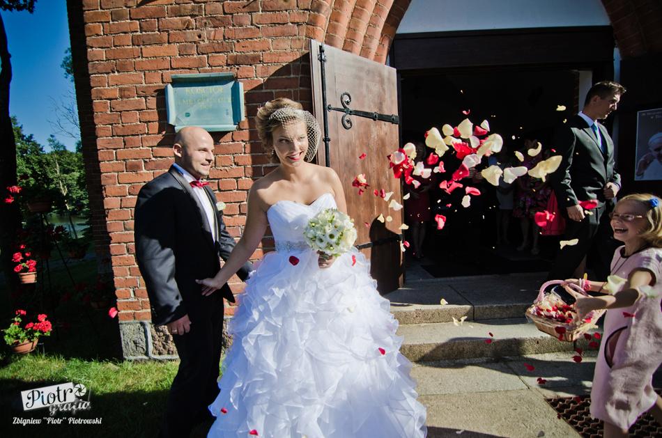 Ślub Agnieszki i Rafała