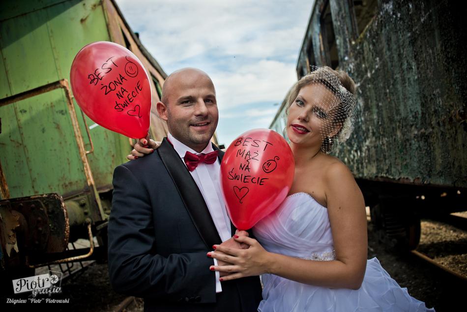 Agnieszka i Rafał – plener ślubny
