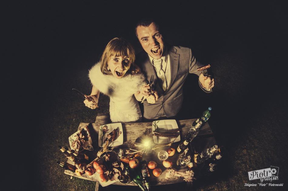 Plener ślubny Basi i Romka