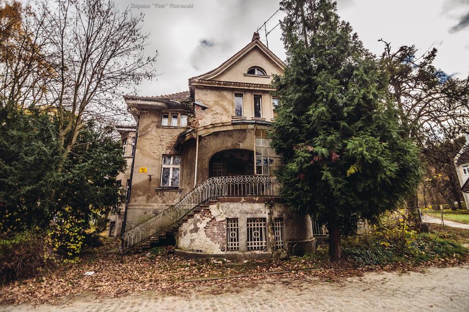 Opuszczony szpital psychiatryczny w Gdańsku