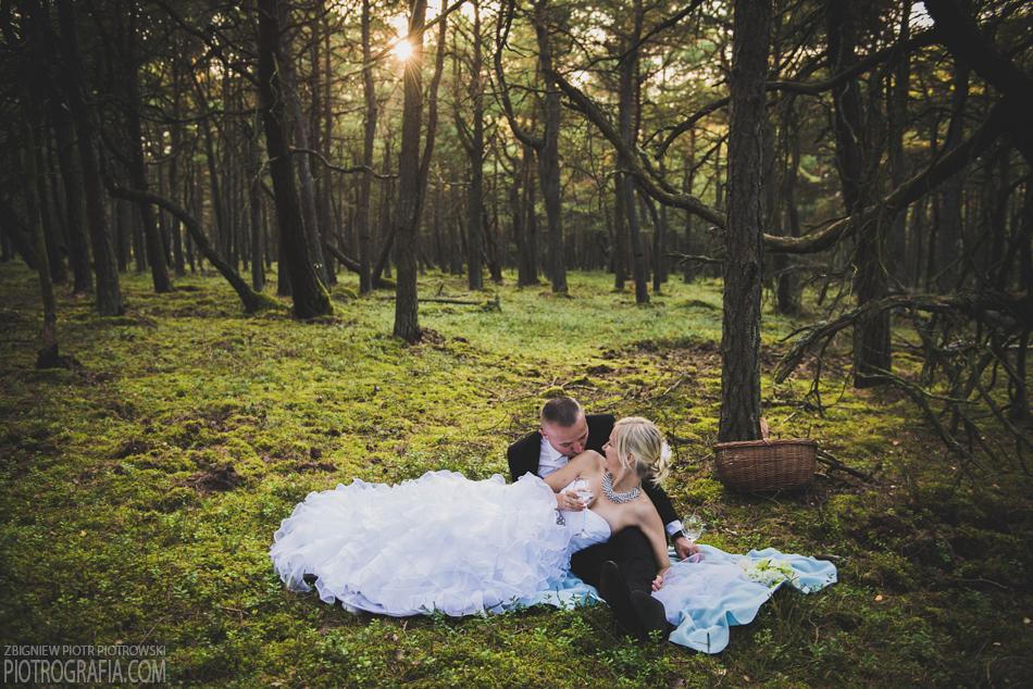Plener ślubny Magdy i Grzesia…