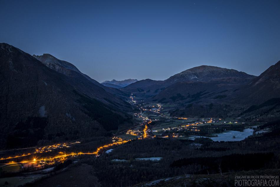 Første dag i Norge / Pierwszy dzień w Norwegii / Dolina Regndalen