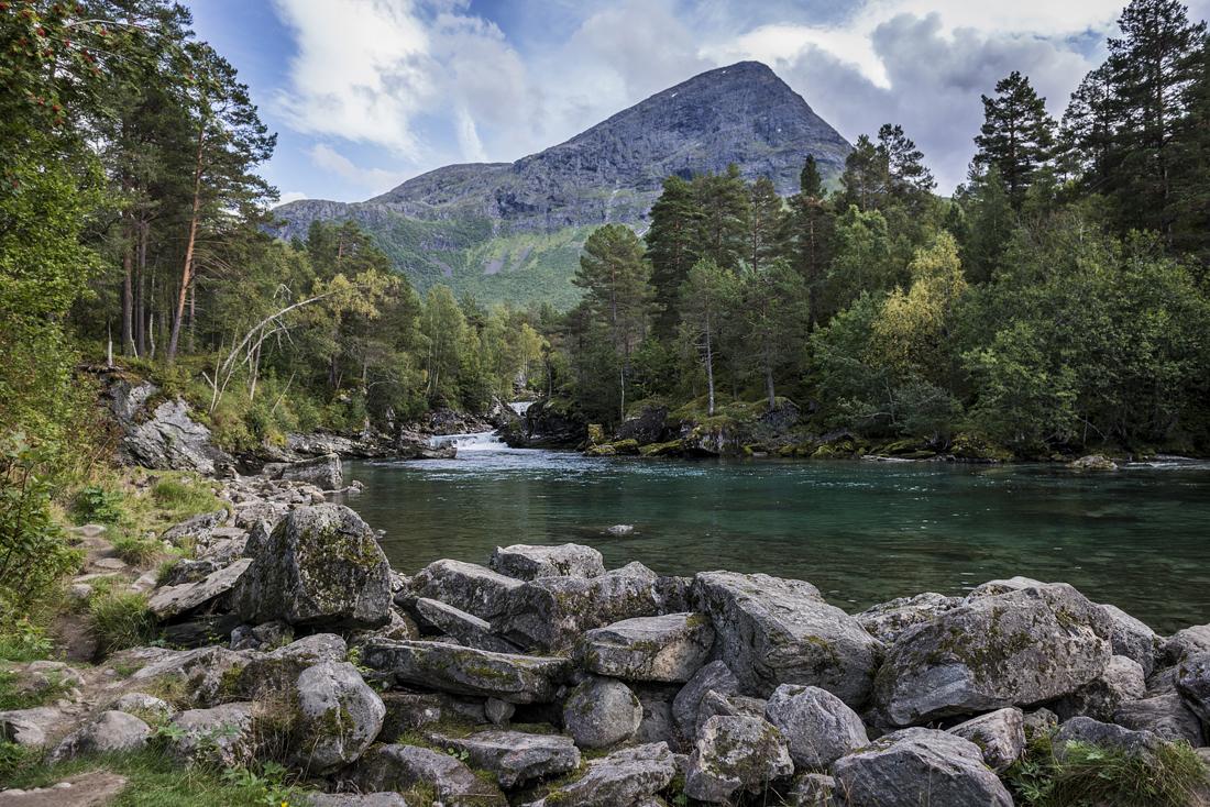 Przełom Gudbrandsjuvet, Norwegia