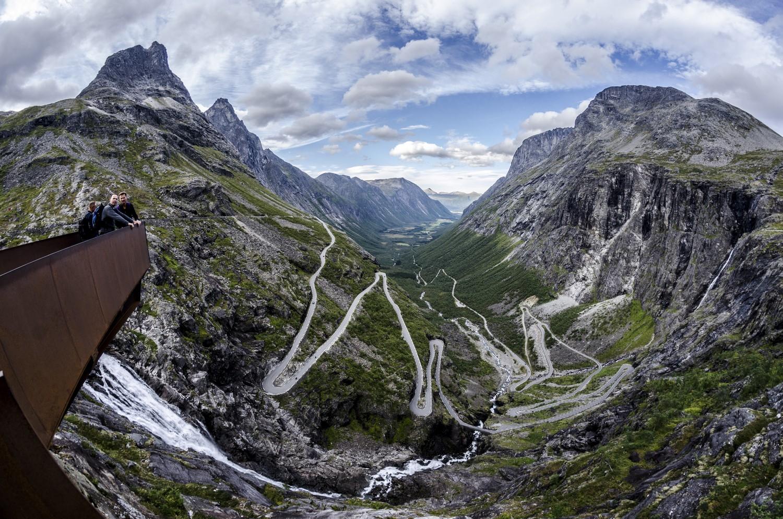 Norwegia – Droga Troli