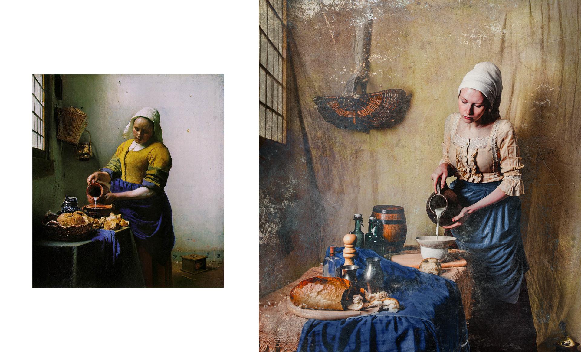 """""""Mleczarka"""" Jan Vermeer"""